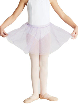 Capezio Double Layer Pull On Skirt - Girls - Purple - Style:11312C