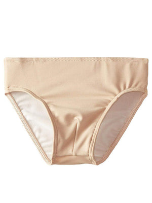 Capezio Full Seat Dance Brief - Boys - Tan - Front - Style:5935Y