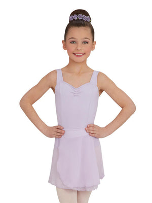 Capezio Girls Pull-On Skirt - Girls - Purple - Front - Style:TC0011C