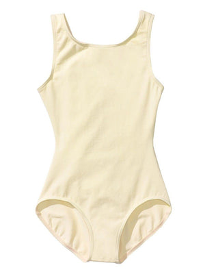 Capezio High-Neck Tank Leotard - Girls - Yellow - Style:CC201C