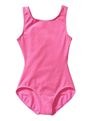 Capezio High-Neck Tank Leotard - Girls - Pink - Style:CC201C