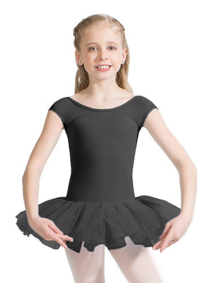 Capezio Keyhole Back Tutu Dress - Girls - Black - Style:11394C