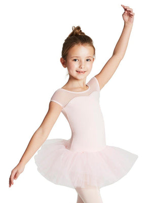 Capezio Keyhole Back Tutu Dress - Girls - Pink - Style:11394C