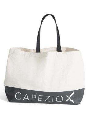 Capezio Large Canvas Tote - Tan - Style:B201W