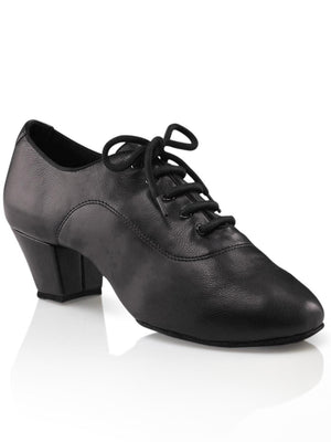 "Capezio Men's Latin Ballroom - 2"" Cuban Heel - Black - Style:SD09"
