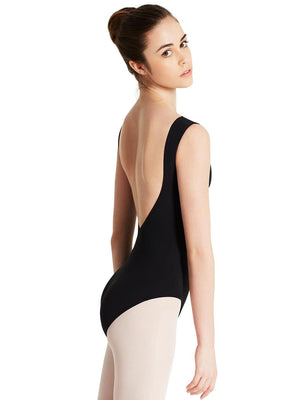 Capezio Meryl Boatneck Leotard - Black - Style:MC220