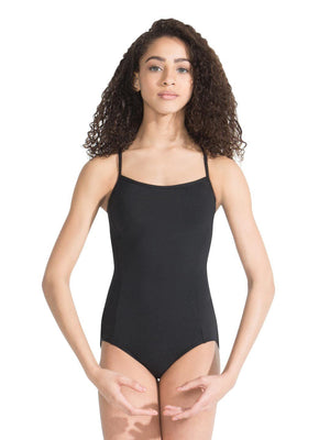 Capezio Meryl Strappy Back Camisole Leotard - Black - Style:MC833W