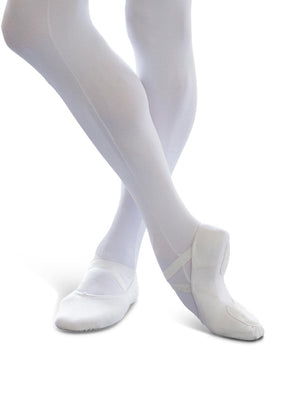 Capezio MR James Whiteside Ballet Shoe - White - Style:2022M