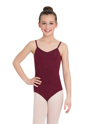 Capezio Princess Camisole Leotard - Girls - Red - Front - Style:CC101C