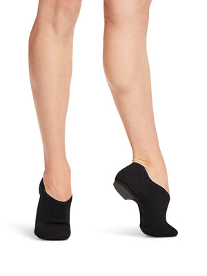 Capezio Pure Knit Jazz Shoe - Black - Style:CG31W