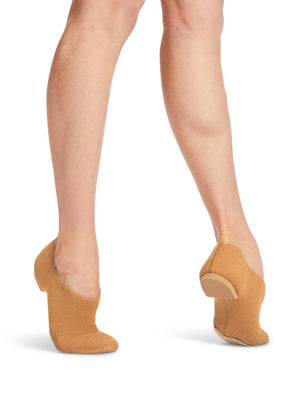 Capezio Pure Knit Jazz Shoe - Tan - Style:CG31W