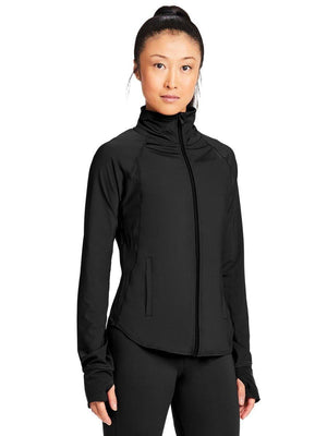 Capezio Renewal Warm Up Jacket  - Black - Style:11289W