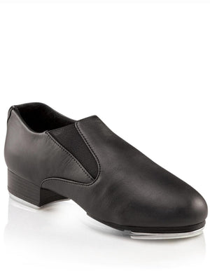 Capezio Riff Slip-On Tap Shoe - Black - Style:CG18