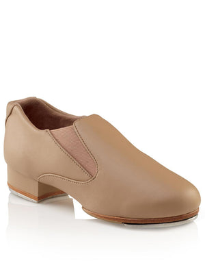 Capezio Riff Slip-On Tap Shoe - Tan - Style:CG18