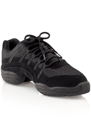 Capezio Rock It Dansneaker® - Black - Style:DS24A