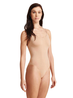 Capezio Seamless Camisole Leotard with Transition Straps - Tan - Style:3680