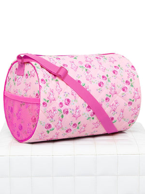 Capezio Some Bunny Loves You Barrel Bag - Pink - Style:B215