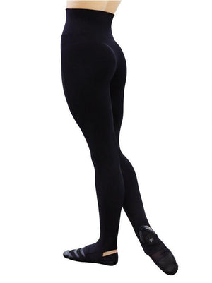Capezio Stirrup Leggings - Black - Style:TB205W