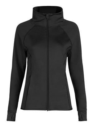 Capezio Team Spirit Jacket - Black - Front - Style:10973W