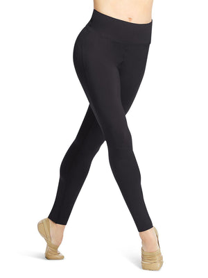Capezio Tech Full Length Legging  - Black - Style:11288W