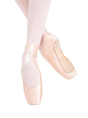 Capezio Tiffany PRO Pointe Shoe - Pink - Front - Style:128