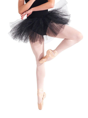 Capezio Waiting for a Prince Tutu Skirt - Girls - Black - Style:10728C
