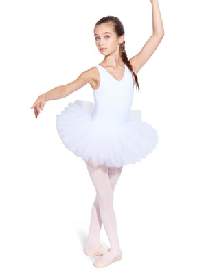 Capezio Waiting for a Prince Tutu Skirt - Girls - White - Style:10728C