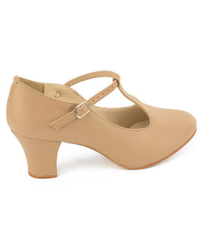 So Danca CH40 ''Chrissie'' 2'' T-Strap Character Shoes