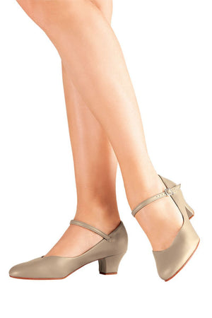 "So Danca CH50 1.5"" Character Shoe Tan"