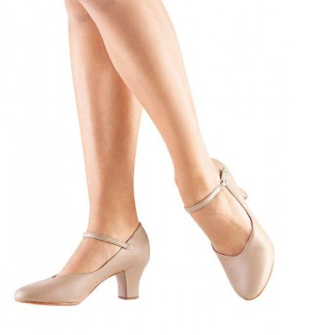 Tan NEW CH 58 So Danca Leather Character Shoes Black