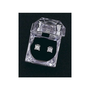 Dasha Cubic Zirconia Earrings - Square