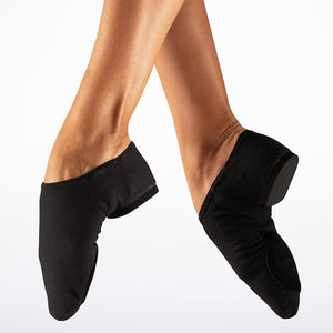 So Danca JZ75C Stretch Jazz Shoe Black