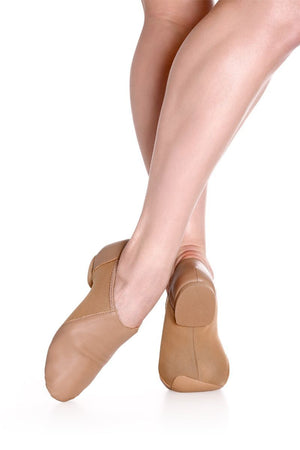 So Danca JZ43 Slip On Leather Jazz Shoe - Child