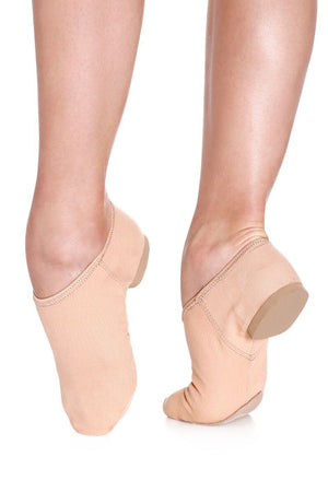 So Danca JZ75L Adult Fully Elasticized Jazz Shoe - Nude