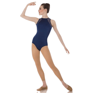 Body Wrappers Tiler Peck Designs P1006 Power Mesh Slit Back Leotard