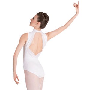 Body Wrappers P1221 Power-Mesh Accent Leotard