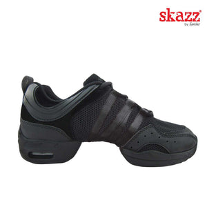Sansha P22M Tutto Nero Split Sole Dance Sneaker
