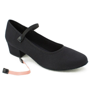"So Danca 1.25"" Cuban Heel Character Shoe Black"