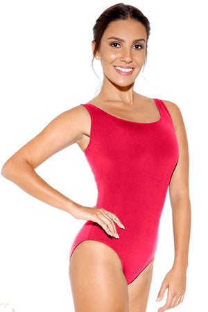 So Danca SL08/D293 Adult Microfiber Tank Leotard