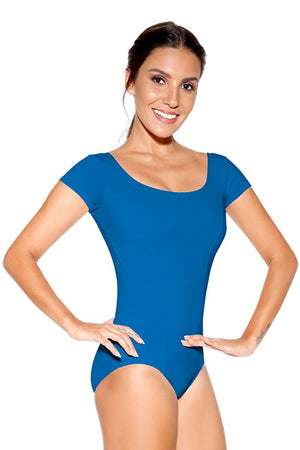 So Danca SL12/D256 Princess Cut Capped Sleeve Leotard