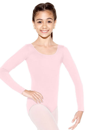 So Danca SL15/D6600 Long Sleeve Microfiber Leotard - Child