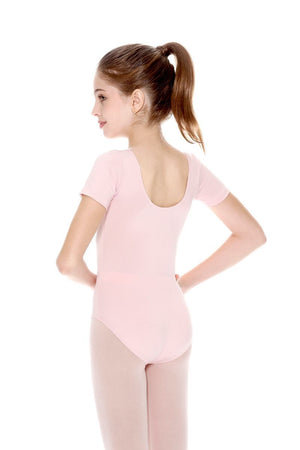 So Danca D197/SL26 Classic Cap Sleeve Microfiber Leotard - Child