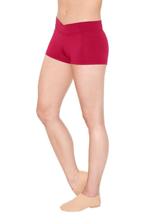So Danca SL80/D257 V-Cut Waistband Booty Shorts