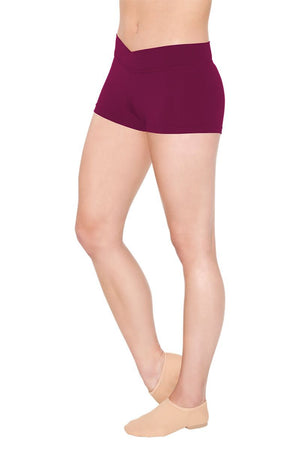 So Danca SL81/D157 V-Cut Waistband Shorts - Child