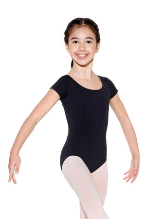 So Danca SLO23 Cap Sleeve Jersey Spandex Leotard - Child