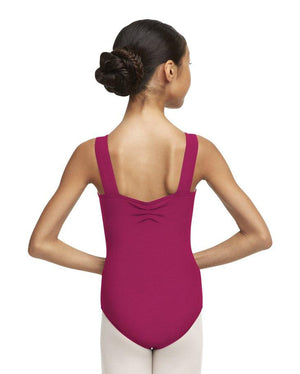 Capezio;Wide;Strap;Leotard;Cerise;TC0053W