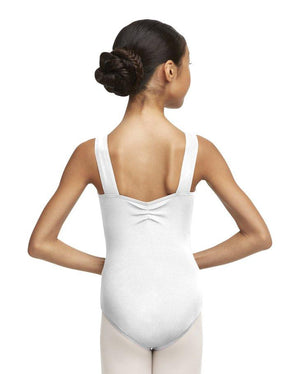 Capezio;Wide;Strap;Leotard;White;TC0053W