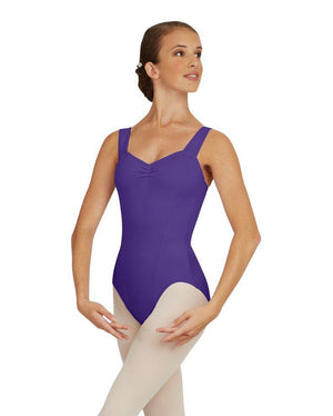 Capezio;Wide;Strap;Leotard;Deep;Purple;TC0053W