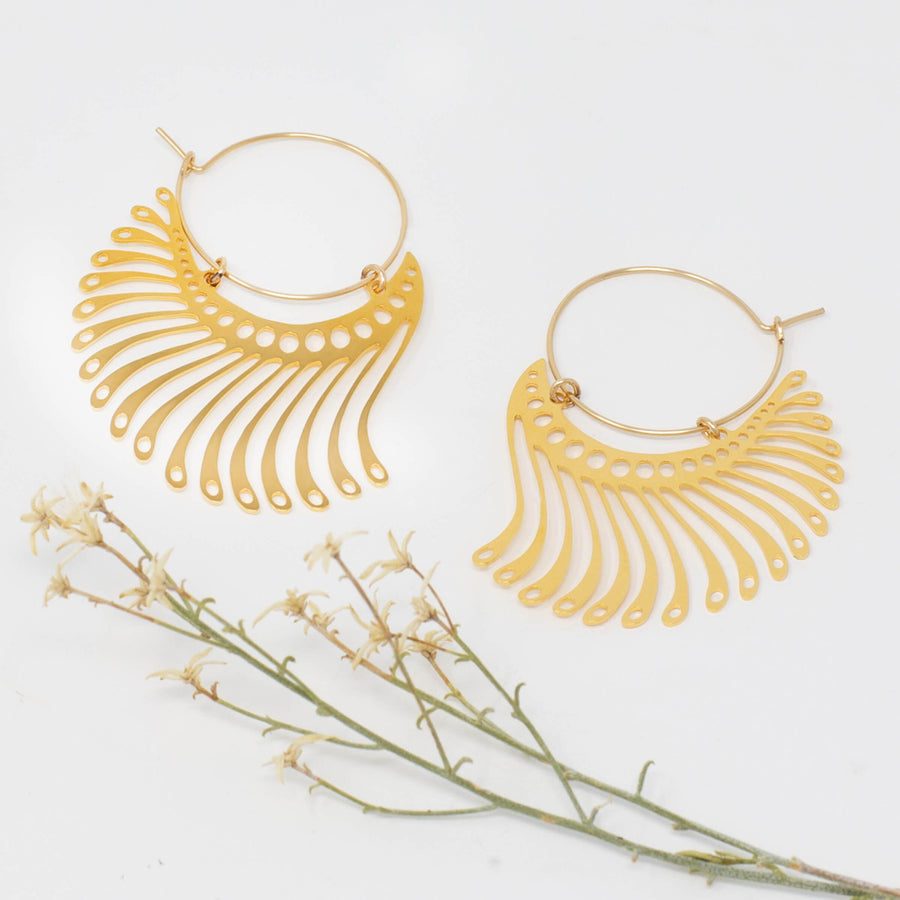 Jahl Earrings - 1