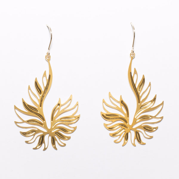 Ascend Earrings - 1 Gold